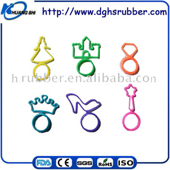 shaped silicone band