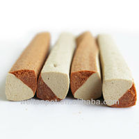 Dual square bar-shaped dog chew (dry pet food)