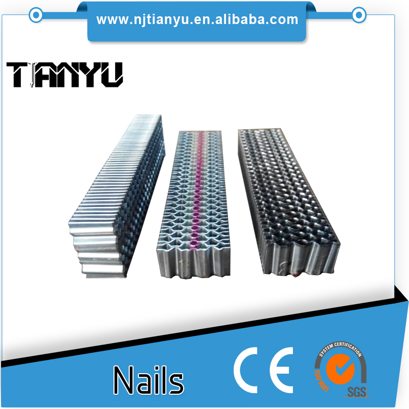 High quality 1 crown corrugated wood fasteners-CF corrugated nails