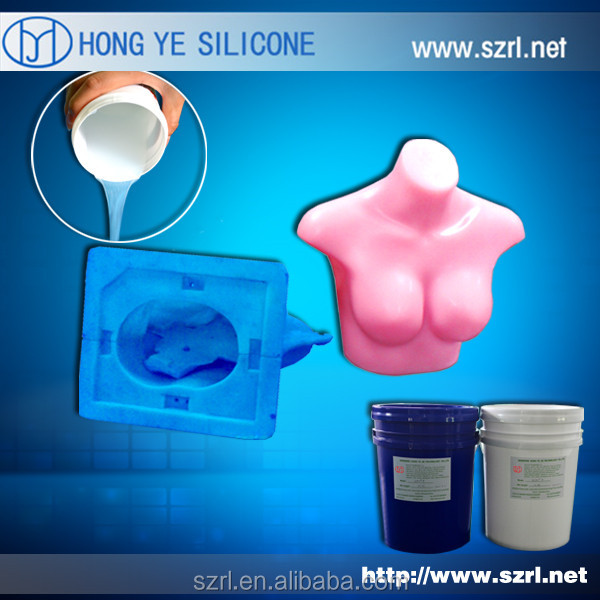 High transparent liquid silicone rubber for adult toys and dolls