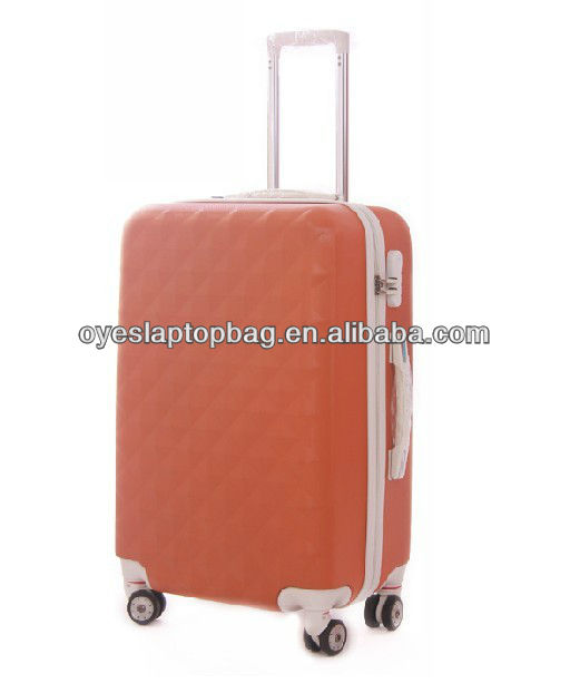 pc hardshell laptop travel trolley luggage