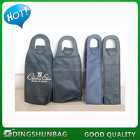 Cheap new products high quality canvas wine bag carrier