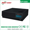 Very popular metal case electric inverters for house in pakistan LCD ups