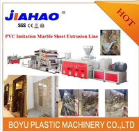 PVC imitation marble sheet/board production /extrusion line /making machine