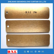Embossed color aluminum slats coil for curtain