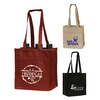 Good quality Cheapest cotton canvas wine bag wholesale