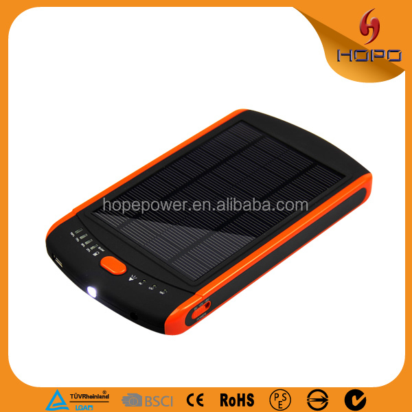 Factory wholesale 23000 mah waterproof solar power bank for laptop