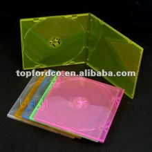 5.2mm slim jewel cd case 5 assorted color