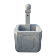 C139 Outdoor Granite Water Column Fountain
