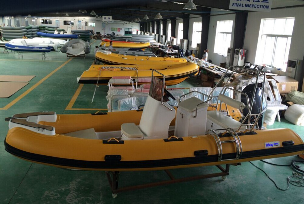 China manufacturer new 17 39 rib rigid hypalon inflatable for Sport fishing boat manufacturers