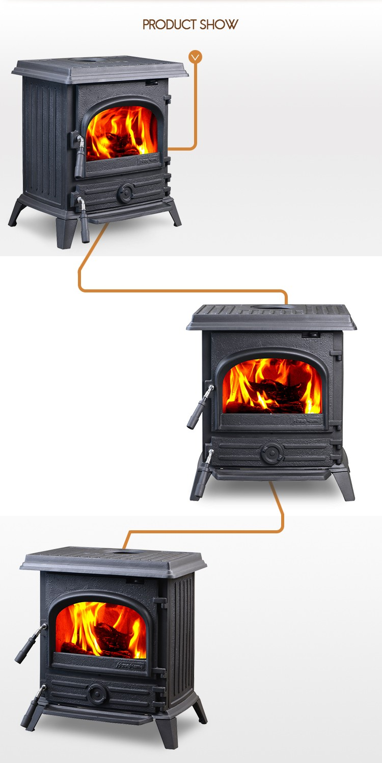 New Product Cheap Cast Iron Stove Doors Design Wood Burning Fireplace For Sale Hf517ub Buy