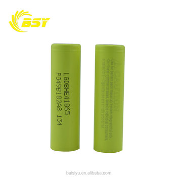 Wholesale price lghe4 35amp li-ion battery for e bike rechargeable battery li-ion 35amp 2500mah he4 18650