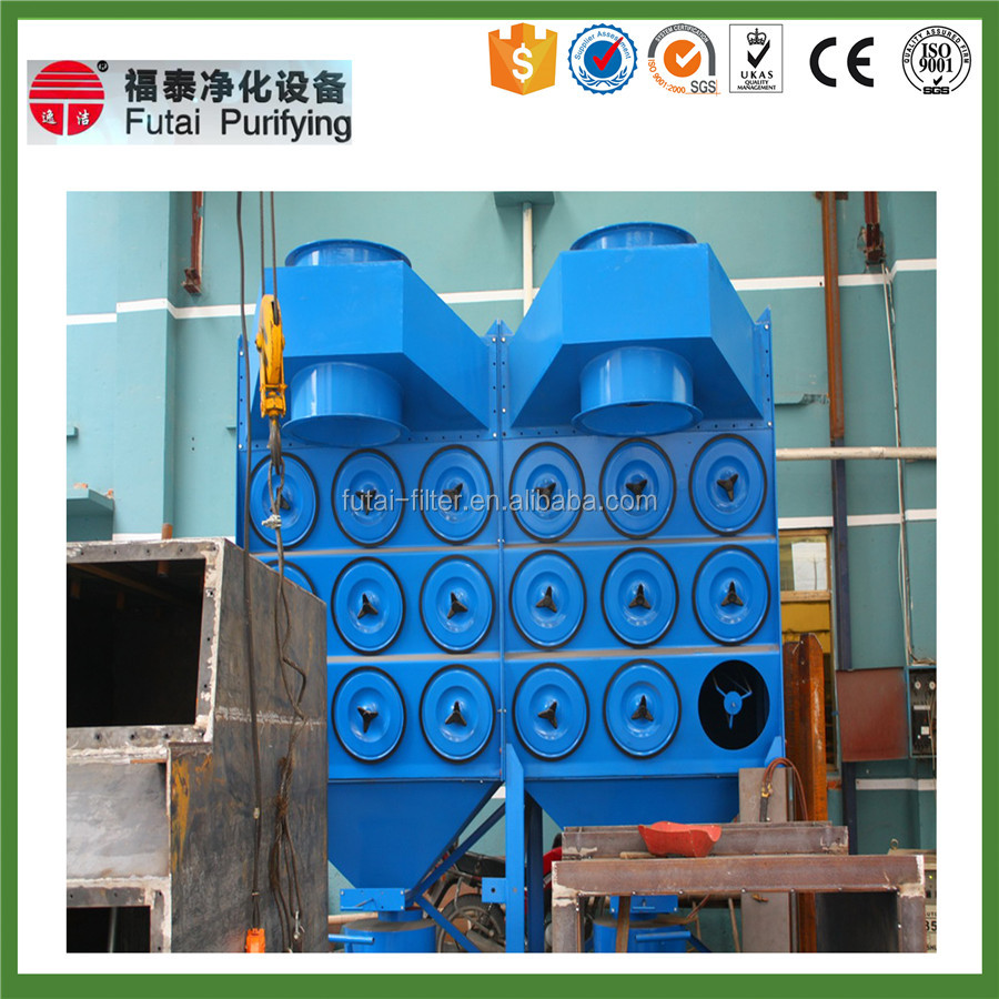 Pulse Cartridge Dust Collector Extraction System