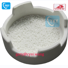 Dental zirconia crucible for dental furnace / dental crucible with lid
