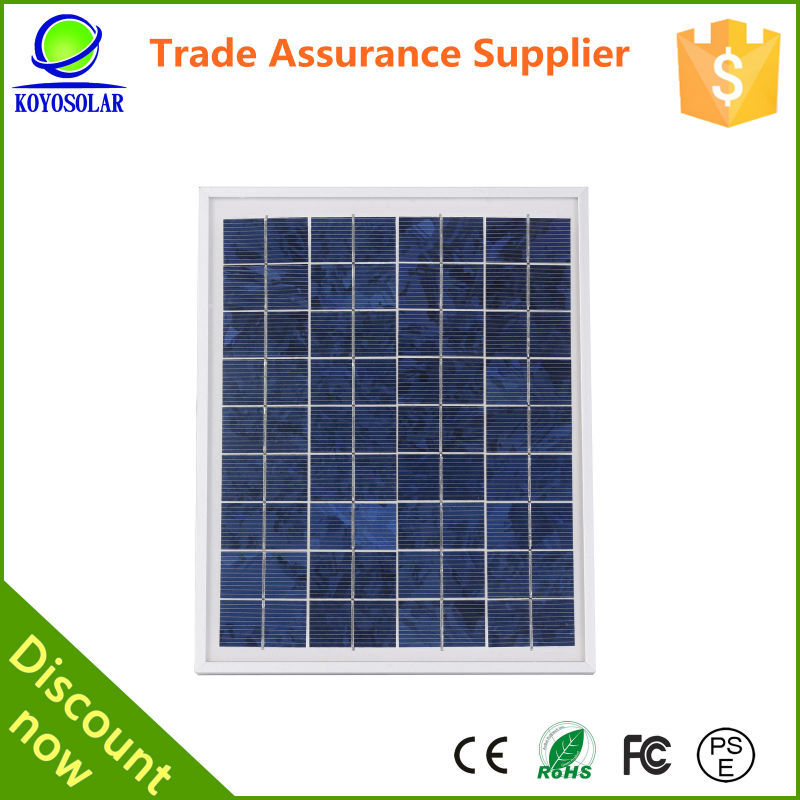 global high efficiency 5 watt solar panel for portable power system and small appliance