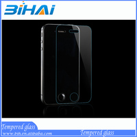 9H Anti-scratch best quality newest for iphone 4 / 4s tempered glass screen protector