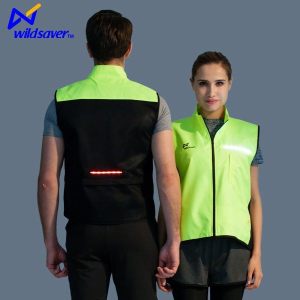 outdoor activity breathable LED bike wear