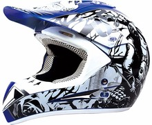 Motocross dirt bike motorcycle dual sport helmet with DOT approved