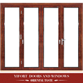four panel glass swing Aluminum single main door design door