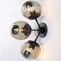 Modern Ball Wall Light with 3 lights