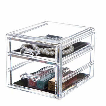 Acrylic storage box head rope children's card issue storage