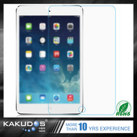 Anti-fingerprint remove air bubbles tampered glass screen protector for ipad pro