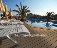 Water proof wpc composite floor swimming pool decking
