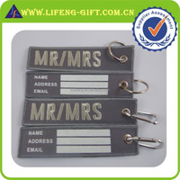 Rush Order Embroidery Arts Baggage Tag Wholesale