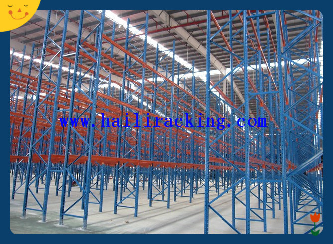 steel tube coil pipe storage pallet rack for big warehouse