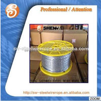 one plastic reel per carton or box steel wire ropes