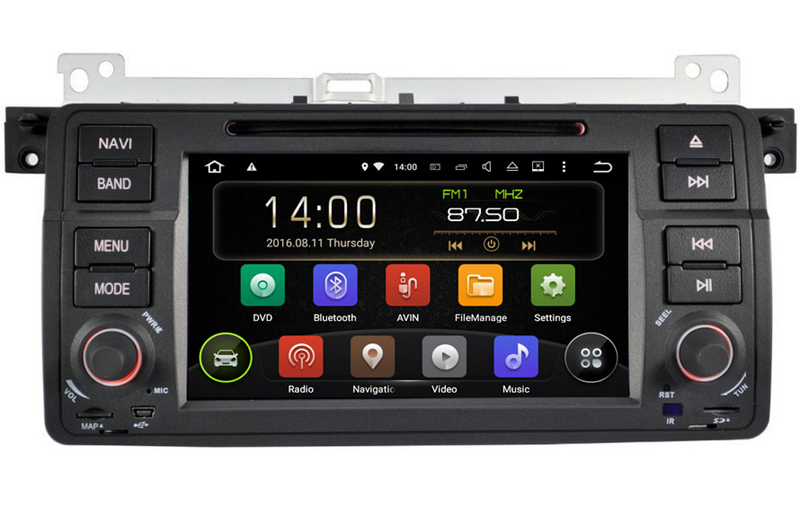 High quality Quad Core Android 5.1 system Car multimedia auto radio DVD player GPS navigation fit for BMW X3 / Z3 / Z4