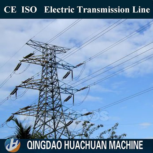 Transmission Tower Steel Electrical Poles