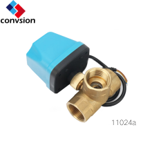 Electric Motorized Brass Actuator Ball Valve