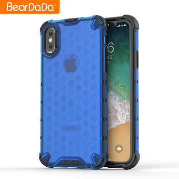 Luxury hybrid Shockproof Phone Cases For Xiaomi Redmi Note 7 , Flexible Transparent PC Back Cover For Redmi Note 7 Mobile Case