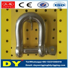 Stainless Steel 304/316 Dee Shackle