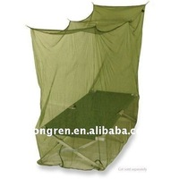 Olive green 100% polyester army mosquito net