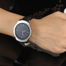 Shenzhen factory price mobile watch phones smart1.3''android round touch screen IPS smart watch 2016