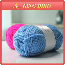 Newest design 40 grams ball for knitting 100% Acrylic Cotton yarn