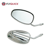ZF001-40 ABS Chrome Material Chrome Color Motorcycle Rearview Mirror For CK125