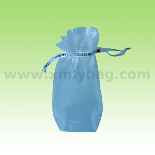 High Quality Square Bottom Organza Bag for Gifts Packaging