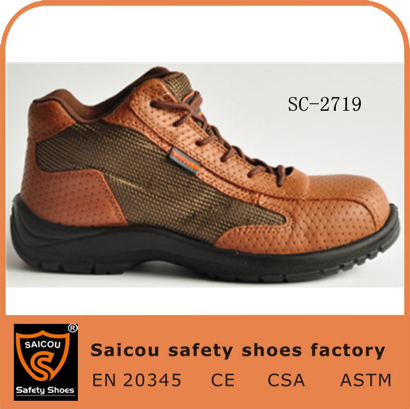guangzhou shoes manufacturer and liberty industrial safety shoes and working safety boots SC-2719