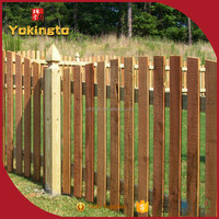 Factory direct supply ECO friendly privacy garden fence panel of timber wood
