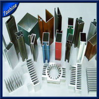 High Quality Silver Anodizing Furniture 6063 Extrusion Aluminum Profile From China Factory