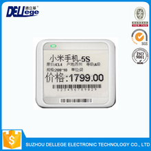 Dellege Competitive Price Printed Esl E-Ink Electronic Shelf Label
