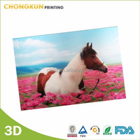 2015 New lenticular 3d picture horse, horse picture
