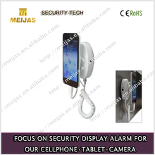 Universal anti theft alarm display smart stand for mobile phone with charging