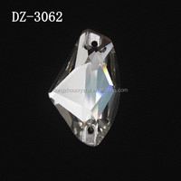 DZ-3062 Galactic crystal sew on rhinestone with foiled backing