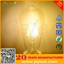 High quality edison bulb led lamps 4w for coffee shop lighting decorations