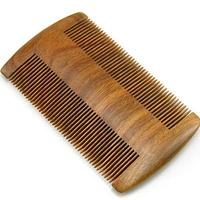 Healthy Moustache Comb Natural Wood Beard
