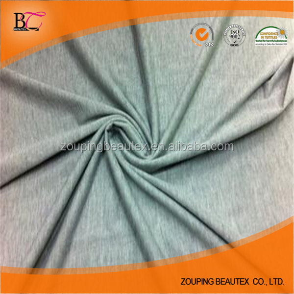 Hot Sale wholesale 100% polyester single jersey knitted fabric for T-shirt